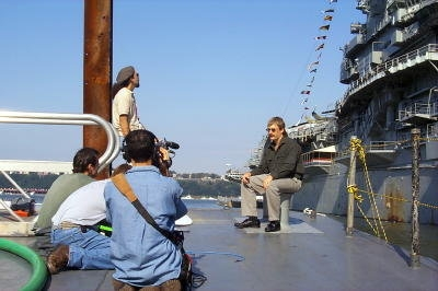 "Filming / Interview in New York for Fox Network's Series Called ""Insearch Of"" Episode ""Time Travel"" - Sept 28th, 2000"