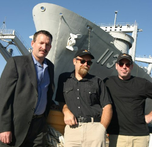 "Filming / Interview in Philadelphia Navy Yard for The TV Series ""Weird U.S."", 2005, Sep 28th"
