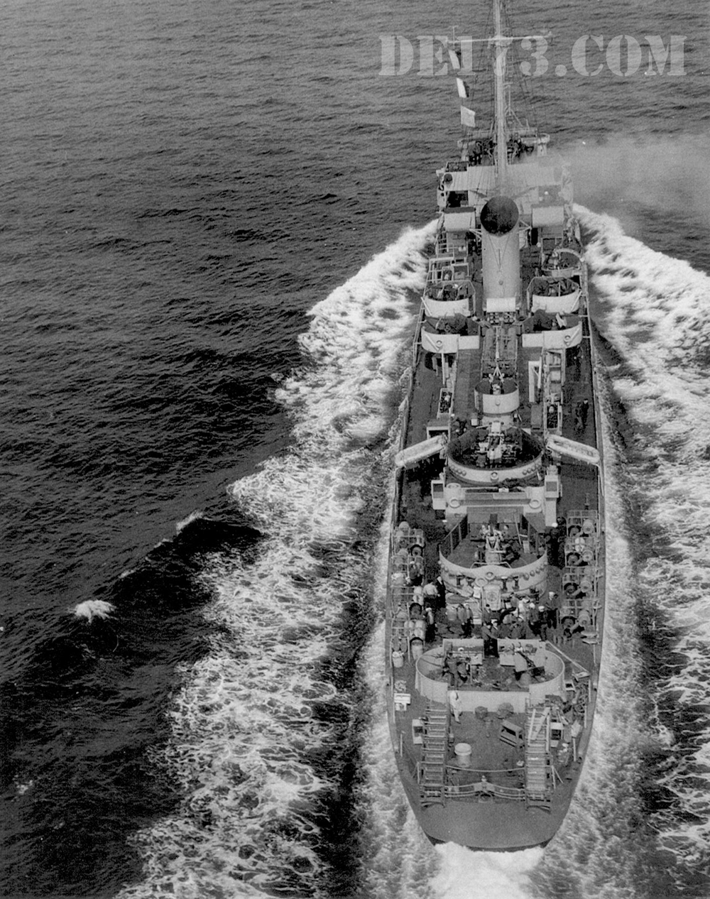 USS Eldridge, 1943