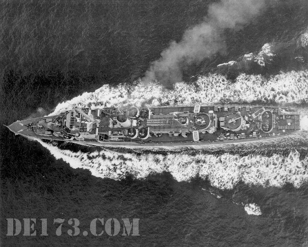 USS Eldridge, 1944