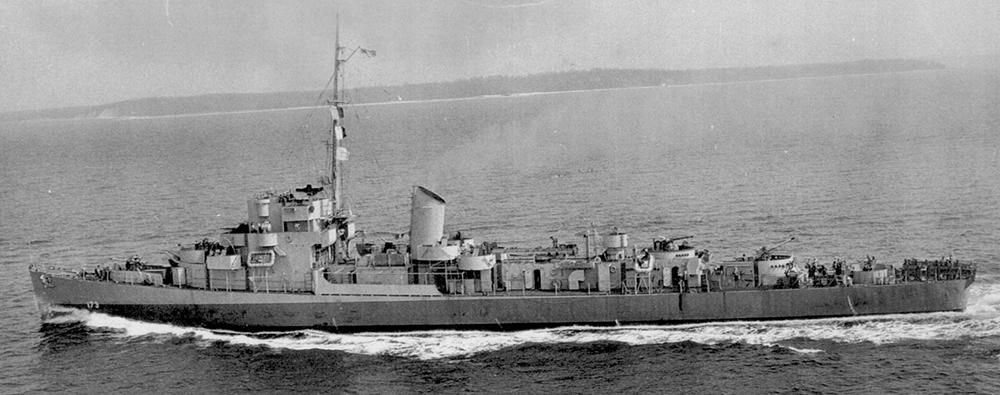 USS Eldridge DE173, 1944