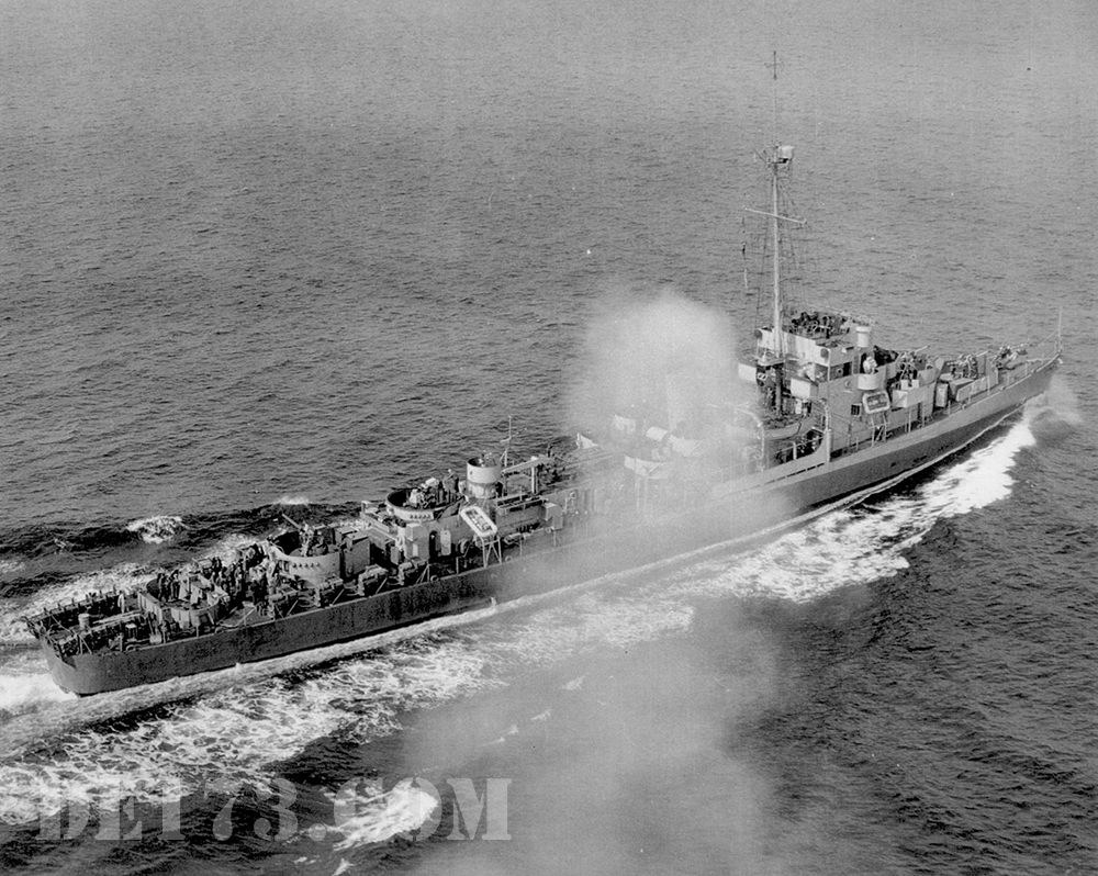 USS Eldridge, 1944, Apr 25th