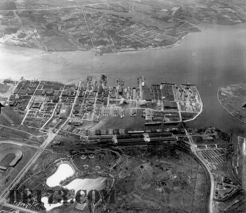 Philadelphia Navy Yard, 1947 / Nov