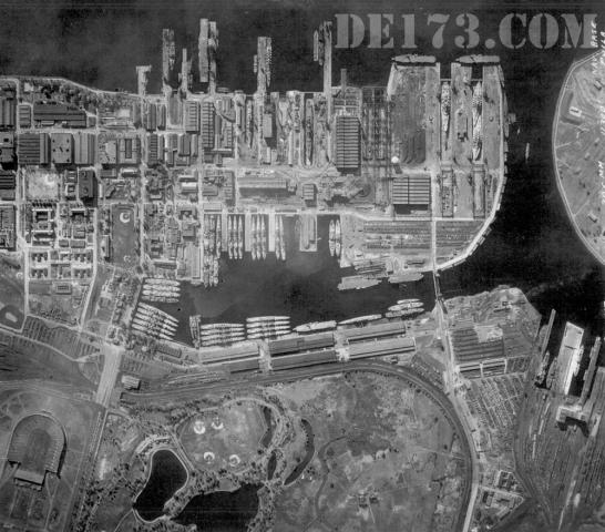 US Navel Base Philadelphia, PA, March 1948