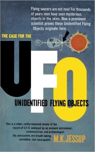 The Case For The UFO Paperback Cover