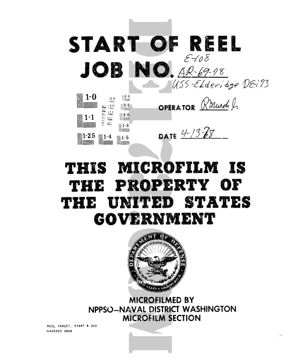 Eldridge MIcrofilm Starting Page