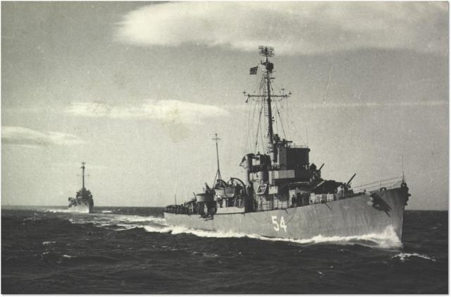 Eldridge Serving in the Greek Navy as the HNS Leon D54