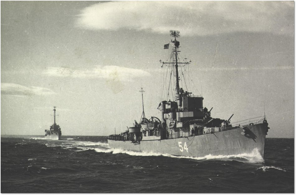 Eldridge Serving in the Greek Navy as the HNS Leon D54