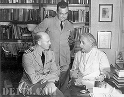 Einstein Meeting With The Office Of Navel Research, 1943