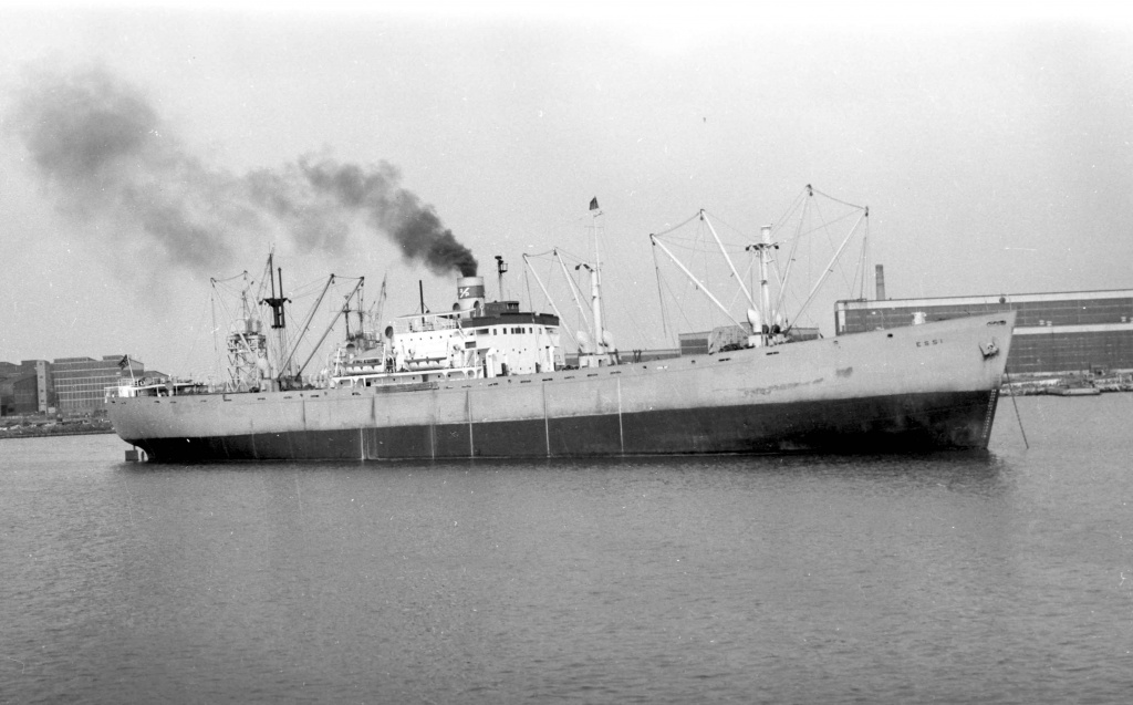 In 1946 the Furuseth was sold to Norway after the war, and was renamed the Essi and served in the Norwegian Merchant Fleet