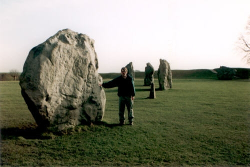 The Giant Stones of Avebury (The Largest Stone Circle in the world), England, January 1999