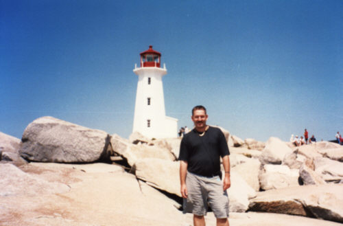 The Lighthouse at Peggy's Cove (Nova Scotia) is one of the most photographed location in Canada