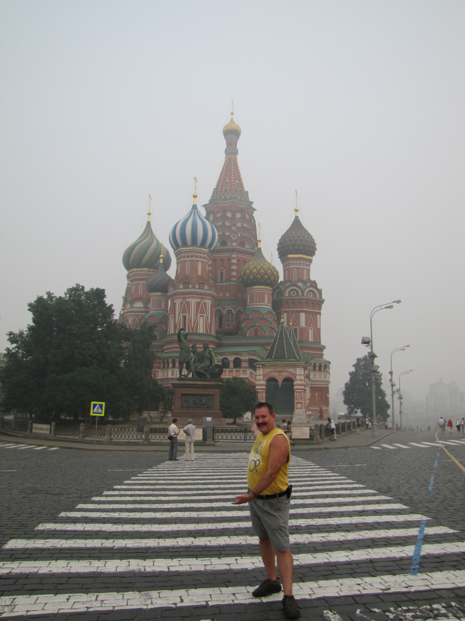 St. Basil's Cathedral on Red Square, Moscow July 2010