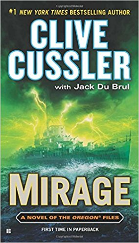 Mirage by Clive Cussler Book Cover