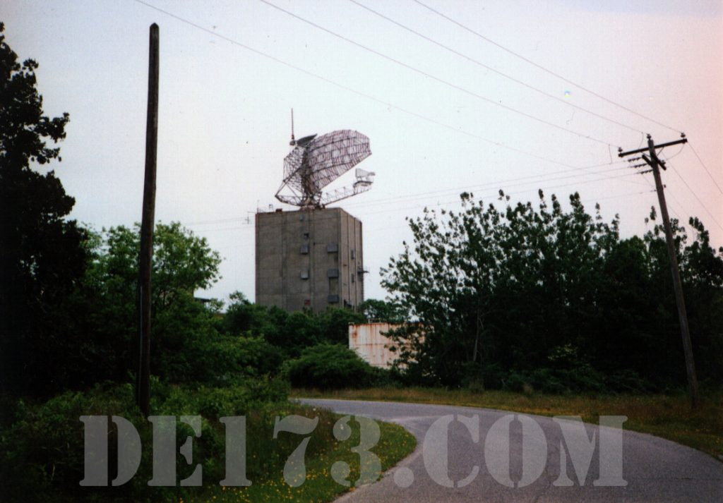AN/FPS-35 Radar Tower and Antenna