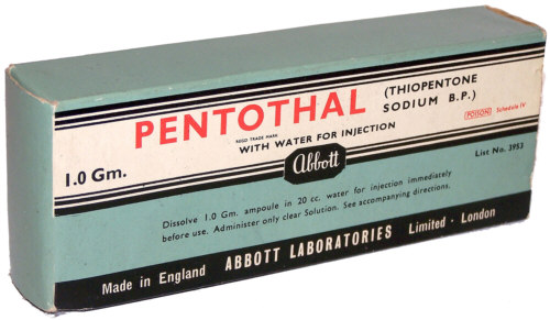 Sodium Pentothal-Truth Serum