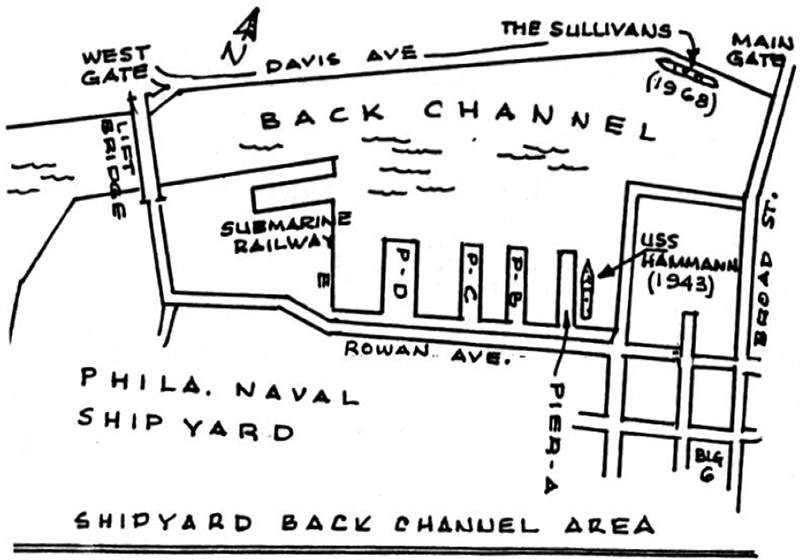 The Blurb (Volume 53 Number 4, Apr 2003) Philadelphia Shipyard Drawing
