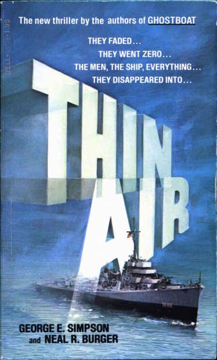 Thin Air (1978) by George E. Simpson, Neal R. Burger
